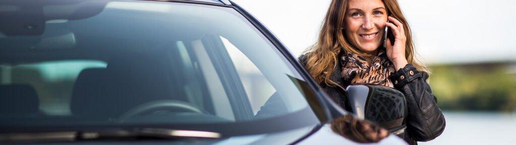 Efetr bilolycka, anmäl skadan till ditt försäkringsbolag