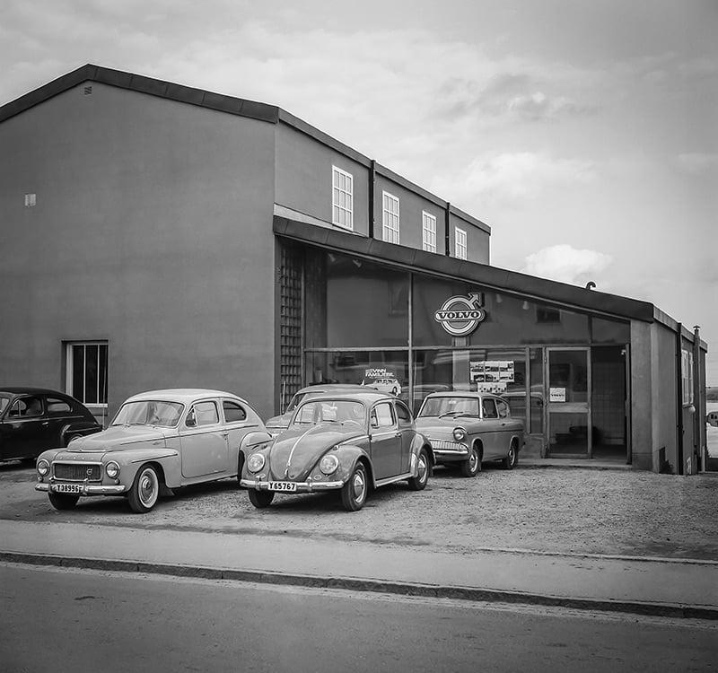 Bilbolaget i Timrå, Köpmangatan 38, historisk bild