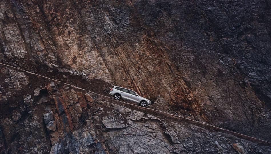 Volvo V60 Cross Country tar dig fram nästan överallt