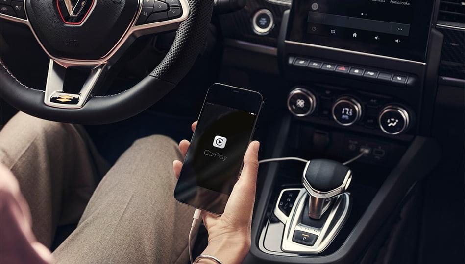 Koppla upp din smartphone mot nya Renault Arkana