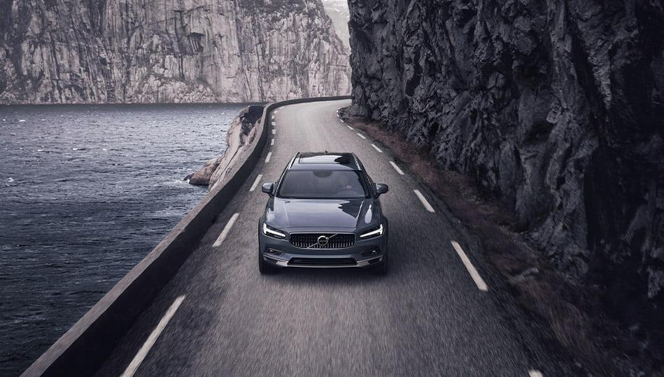 Volvo V90 Cross Country har hög tillåten släpvagnsvikt och är därför en perfekt dragbil