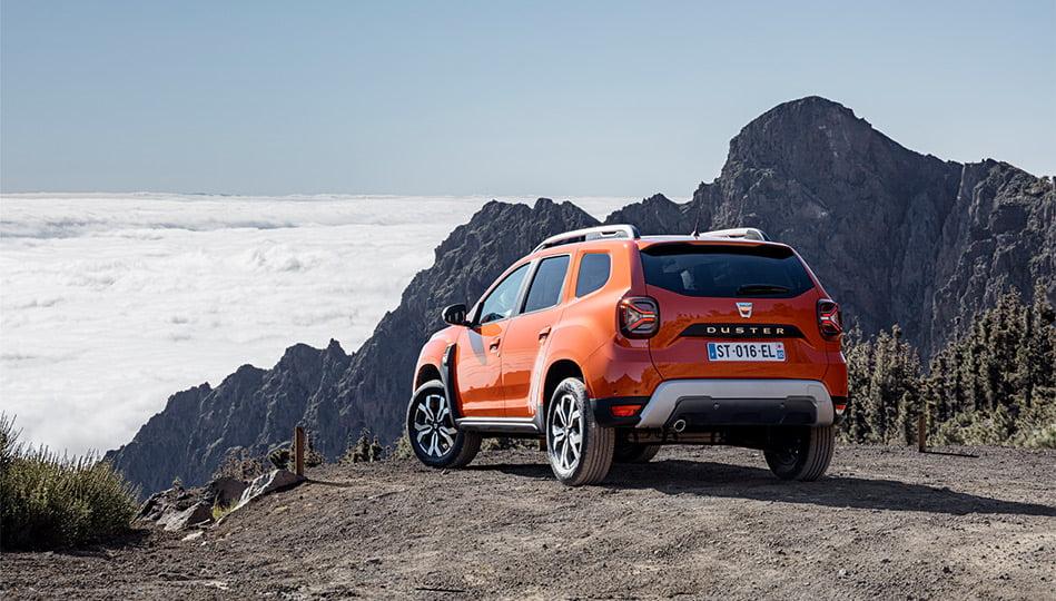 Dacia Duster uppdaterad 2021 nya baklyktor