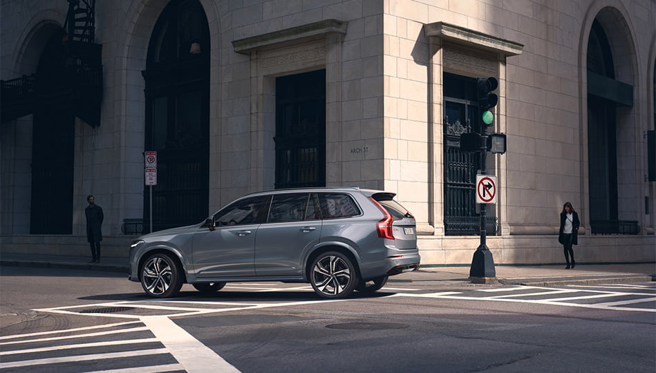 Volvo XC90 är en stor SUV med plats för sju personer