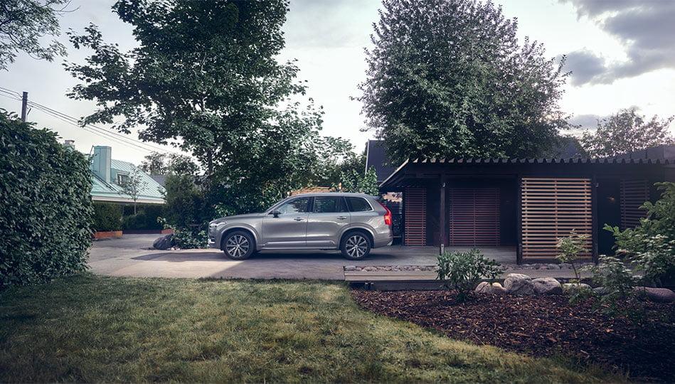 Volvo XC90 är en rymlig och lyxig SUV för den stora familjen